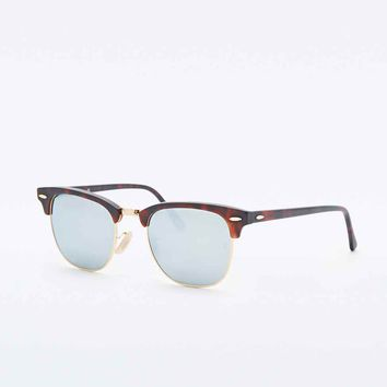 Ray-Ban Clubmaster Sunglasses in Mock Tortoiseshell - Urban Outfitters
