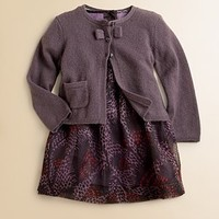 Burberry - Infant's Coralie Printed Jersey Dress