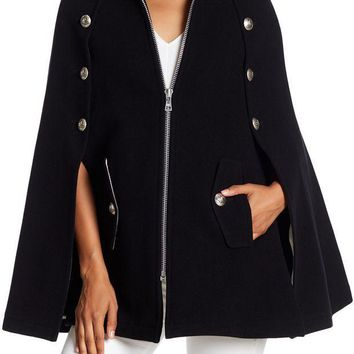 See By Chloe | Wool Blend Military Cape