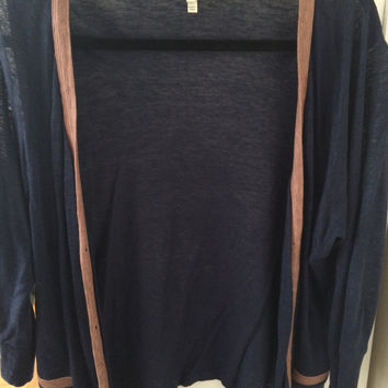 Breezy Navy Joie Cardigan