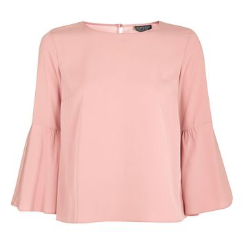 Trumpet Sleeve Top | Topshop