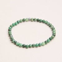 African Jade Mini Energy Gemstone Bracelet