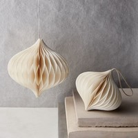 Paper Ornaments - Ivory