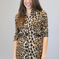 Can't Be Tamed Tunic - Leopard