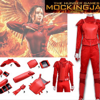 The hunger game Katniss Everdeen Cosplay costume