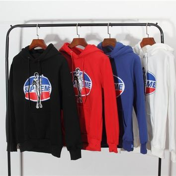 Pepsi Cola X Supreme Letter Printing Hoodie Sweater M Xxl | Best Deal Online