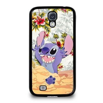 DISNEY LILO & STITCH VINTAGE FLORAL Samsung Galaxy S4 Case Cover