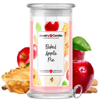 Baked Apple Pie Jewelry Candle