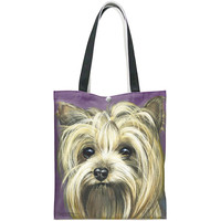 Yorkshire Terrier Canvas Tote