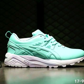 ASICS GEL-KAYANO TRAINER Women Men Running Sport Shoes Sneakers B-SSRS-CJZX Green