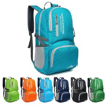 30L Backpack Hiking Daypack Lightweight Foldable Bag for Camping Outdoor Travel Ultralight Handy Travel Backpack Water Resistant