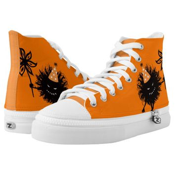 Evil Bug Halloween Party Printed Shoes