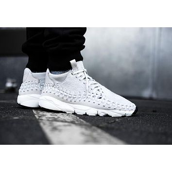 Nike Air Footscape Woven Chukka QS 913929-002 White