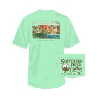 Southern Fried Cotton Boat Dock T-Shirt | Palmetto Moon