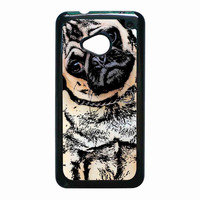 pugs alot dog for HTC One M7 case *02*