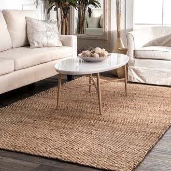 The Gray Barn Mayan Natural Jute Area Rug (10' x 14') | Overstock.com Shopping - The Best Deals on 7x9 - 10x14 Rugs