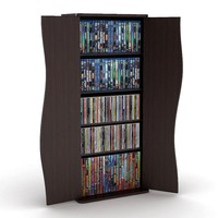 Atlantic Venus Multimedia Cabinet (Brown)