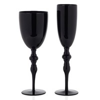 Onyx Stemware - Sets of 4 | Z Gallerie