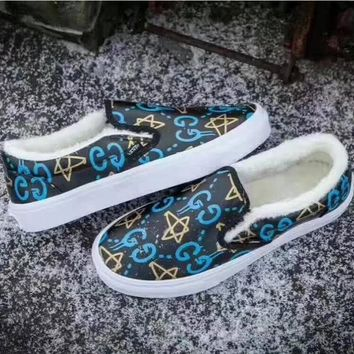 Vans/Gucci men and women fashion casual shoes