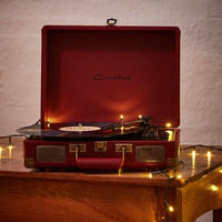 Crosley Cruiser Oxblood Vinyl Record Player - Urban Outfitters