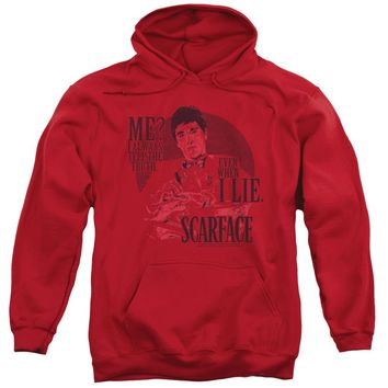 Scarface - Truth Adult Pull Over Hoodie
