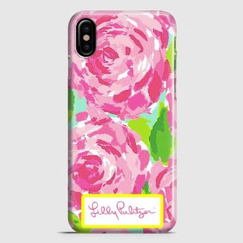 Lilly Pulitzer First Impression Rose Inspired iPhone X Case