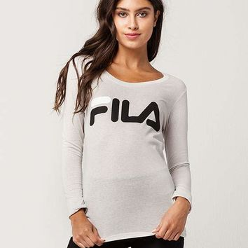 FILA Logo Womens Tee | Graphic Tees