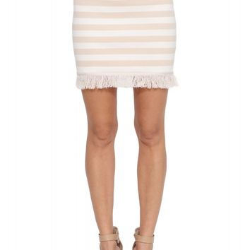 English Factory Caribe Fringe Mini Skirt
