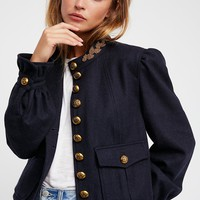 Regan Puff Sleeve Blazer