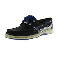 Sperry Womens Bluefish Leather Two-Tone Boat Shoes