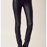 Shakuhachi Leather Pants
