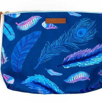 Falling Feathers Clutch