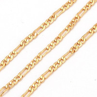 24inches 3.5g 18K Solid Yellow  Gold Filled Necklace Chain C107 = 1946279556