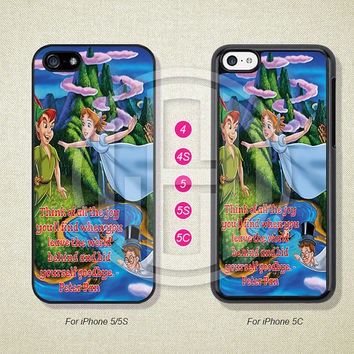 Peter Pan, Phone Cases, iPhone 5S Case, iPhone 5 Case, iPhone 5C Case, iPhone 4 case, iPhone 4S case, Case--L51160