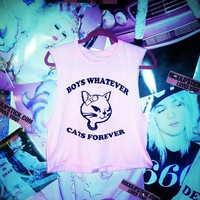BOYS WHATEVER CATS FOREVER — NIKKI LIPSTICK