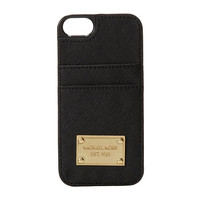 MICHAEL Michael Kors Electronics Phone Cover w/ Pocket Black - Zappos.com Free Shipping BOTH Ways