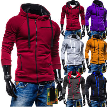 Winter Hoodies Men Casual Tops Hats Jacket [6528747075]