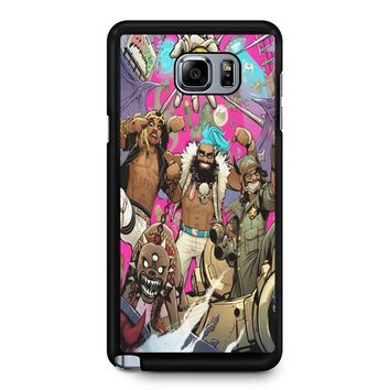 Flatbush Zombies Comic Space Adventure Samsung Galaxy Note 5 Case