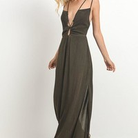 Strappy Open Back Jumpsuit
