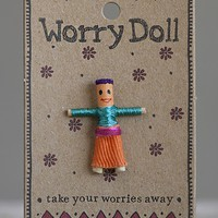 Girl  Worry  Doll  From  Natural  Life