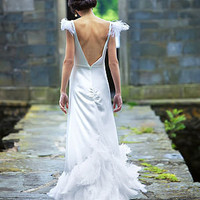 ianthe wedding dress by ele horsley | notonthehighstreet.com