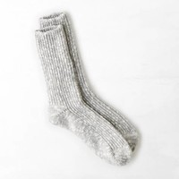 AEO SHIMMERY KNIT BOOT SOCK