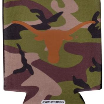 university of texas - koozie pocket camo 12 dp Case of 144