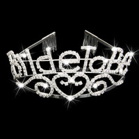 Bachelorette Sparkle Tiara Party Crown Bride to Be Crown Wedding Shower Gift = 1929766852