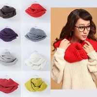 Winter Warm Woolen Infinity Scarf