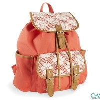Wholesale Peach colored stylish backpack for girls Manufacturers & Suppliers 2016