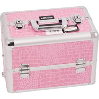 Pink Crocodile Texture, Professional High Quality Makeup Case [Kitchen]