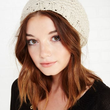 Cozy Chunky Knit Beret | Wet Seal