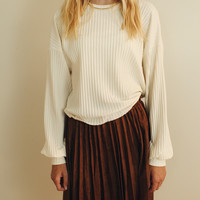 Lydia Ribbed Crop Sweater