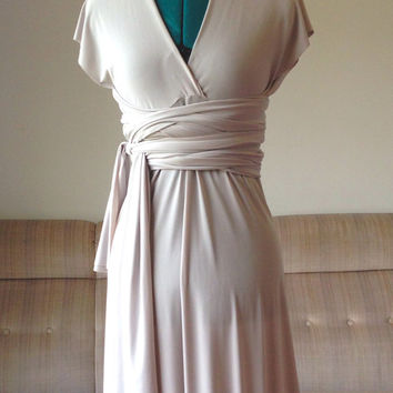 Bridesmaids dress Bridemaids dress Bridesmades dress Infinity Dress Convertible Dress Wrap Dress Octopus dress Floor Length Dress